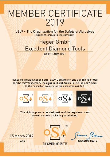 oSa The Organization for the Safety of Abrasives